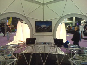 20ft Atlanta trade show dome winner