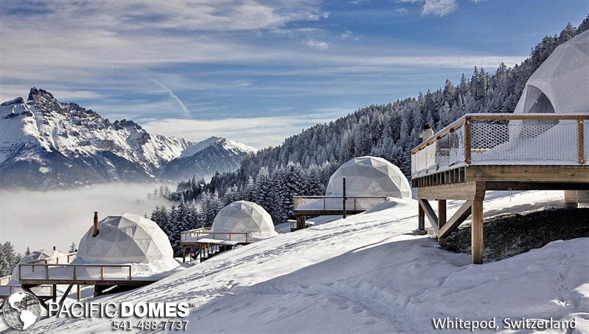 glamping shelter, glamping retreat shelter, dome shelter prices, geodesic shelters