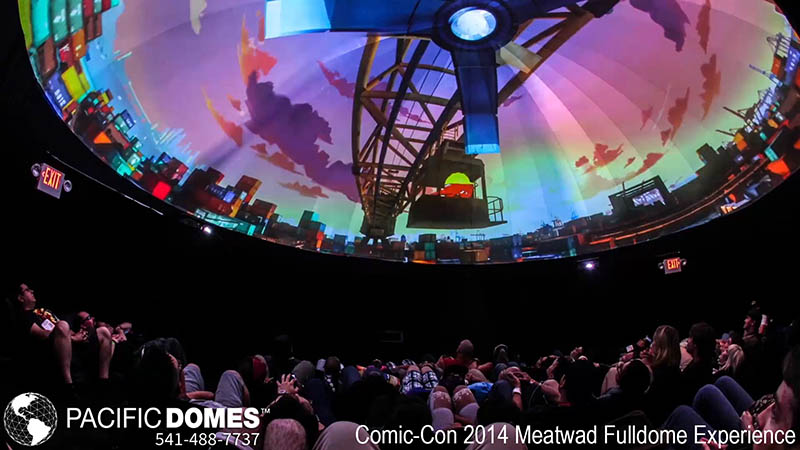 Comic-Con-Pacific Domes