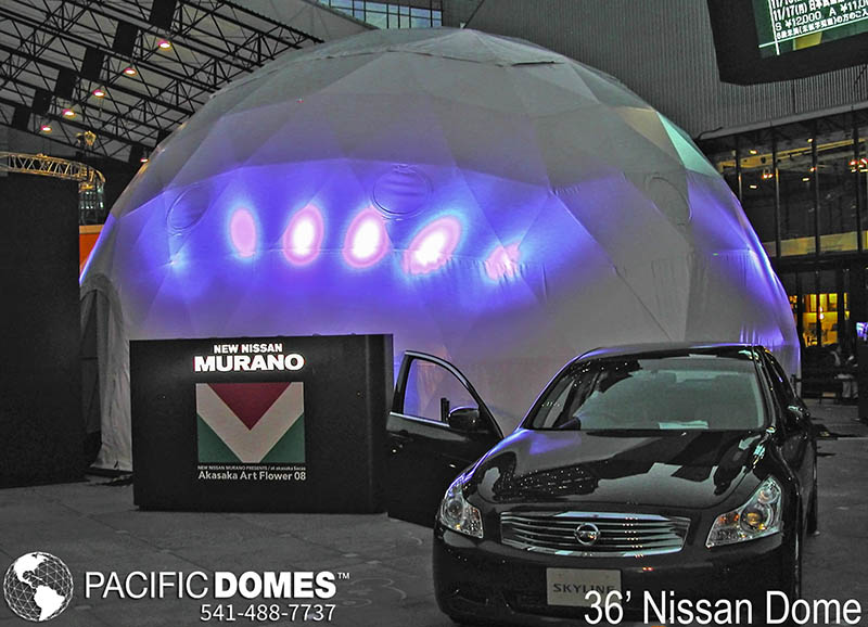 36' Nissan-Pacific Domes