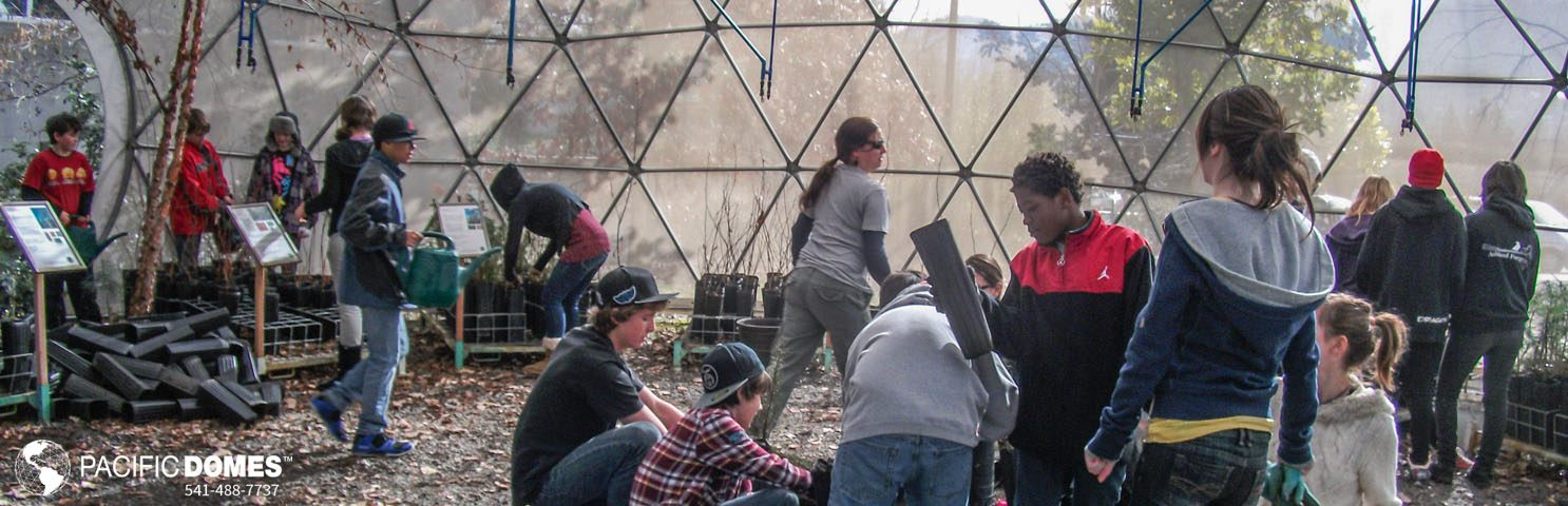 Greenhouse Classrooms-Pacific Domes