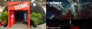 Oracle Projection Dome Pacific Domes