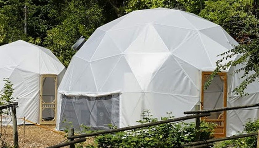 Urban BioDome Greenhouse Pacific Domes
