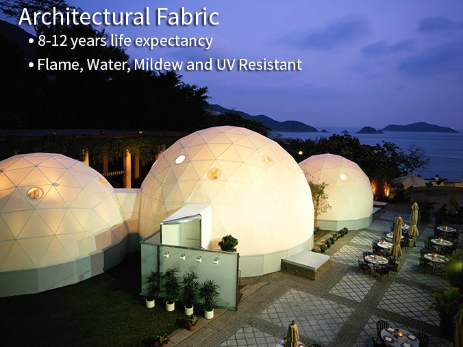 Pacific Domes - Architectural Fabric