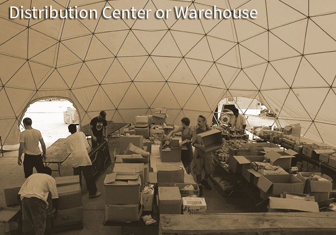 Pacific Domes - Distribution Centers