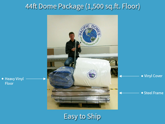 Pacific Domes - Easy to ship