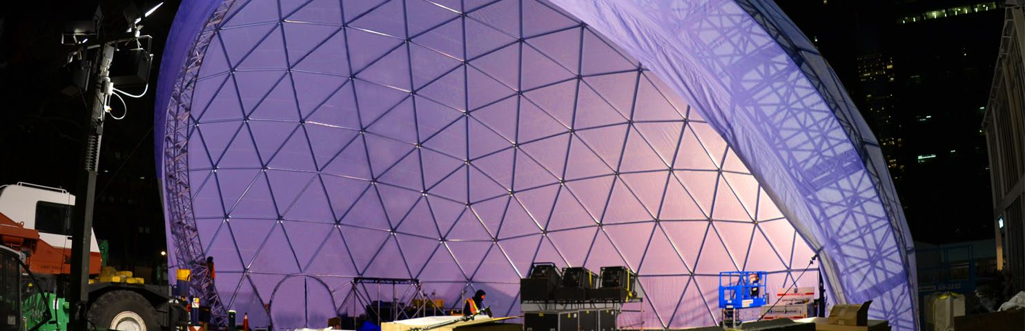 Pacific Domes - Amphitheater Dome