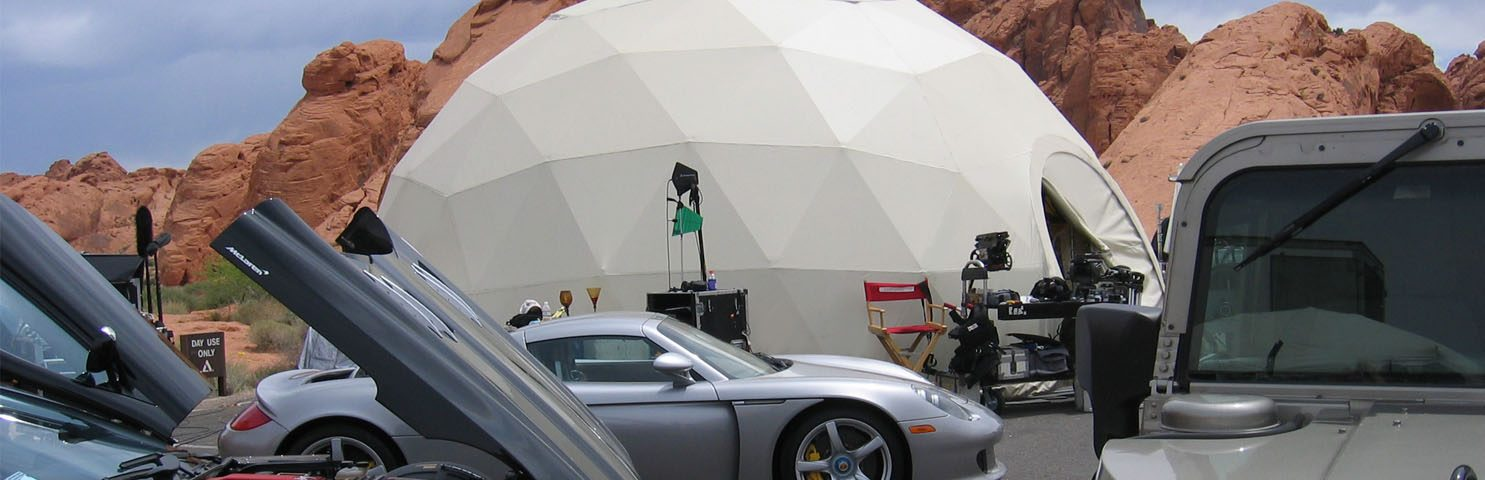 Pacific Domes - Movie Set Dome