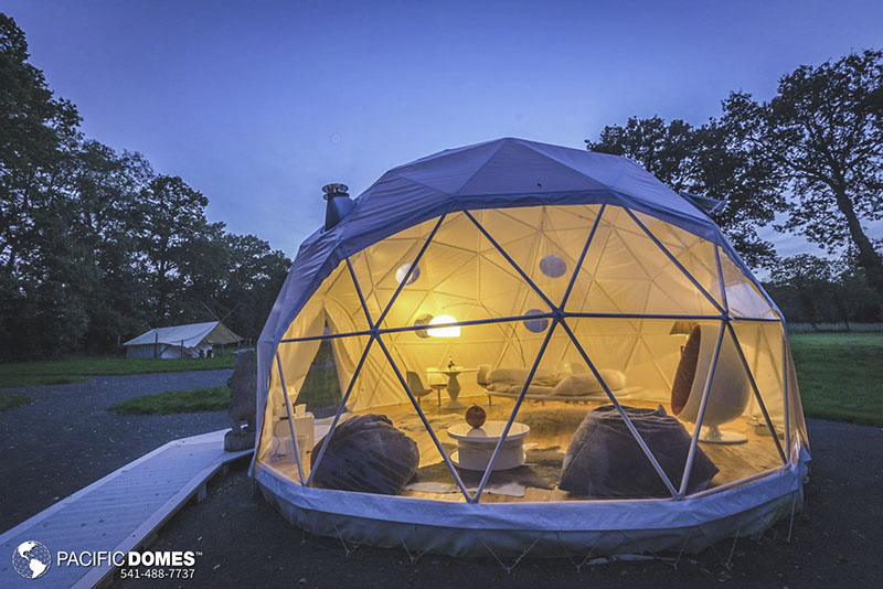 dome home, dwell dome kits