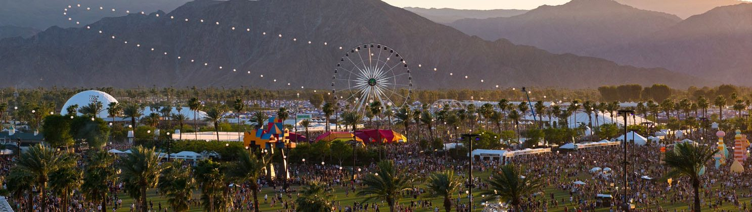 Coachella 120ft Projection