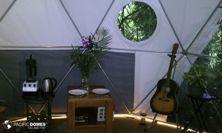 geodesic dome, sustainable living