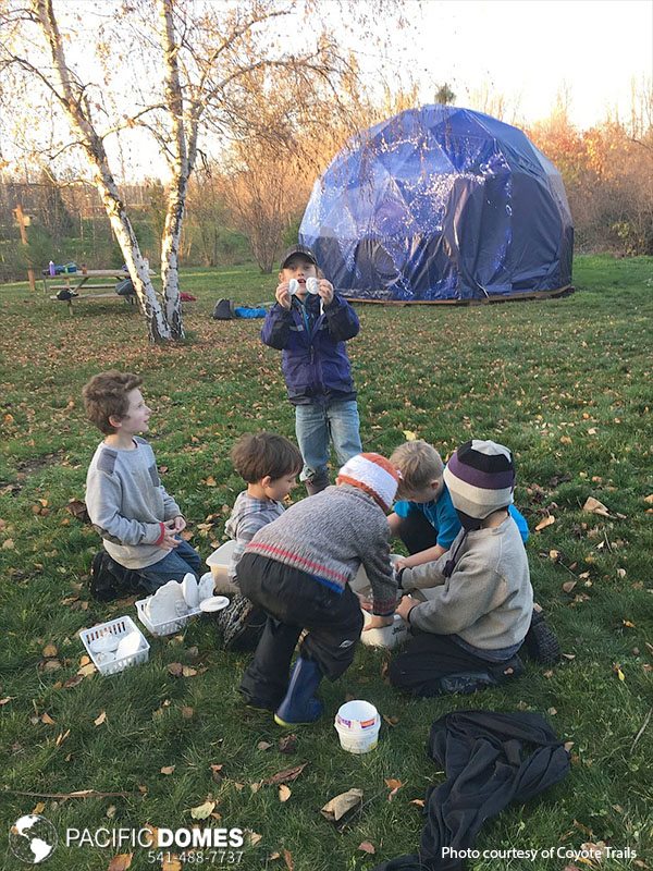 Coyote Trails School of Nature, Nature Smart Education Geodomes