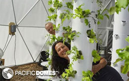 Pacific Domes Grow Dome
