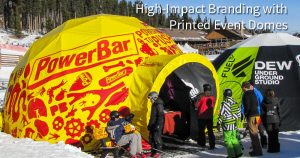 Printed Event Dome
