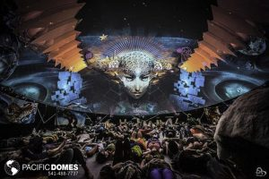 projection dome for festival