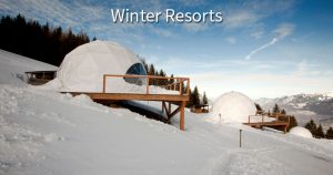 Whitepod Winter Resort Domes