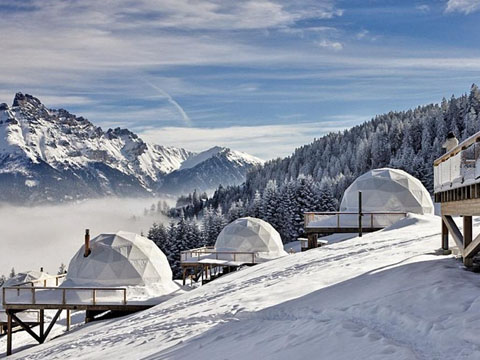 Winter Resort Domes