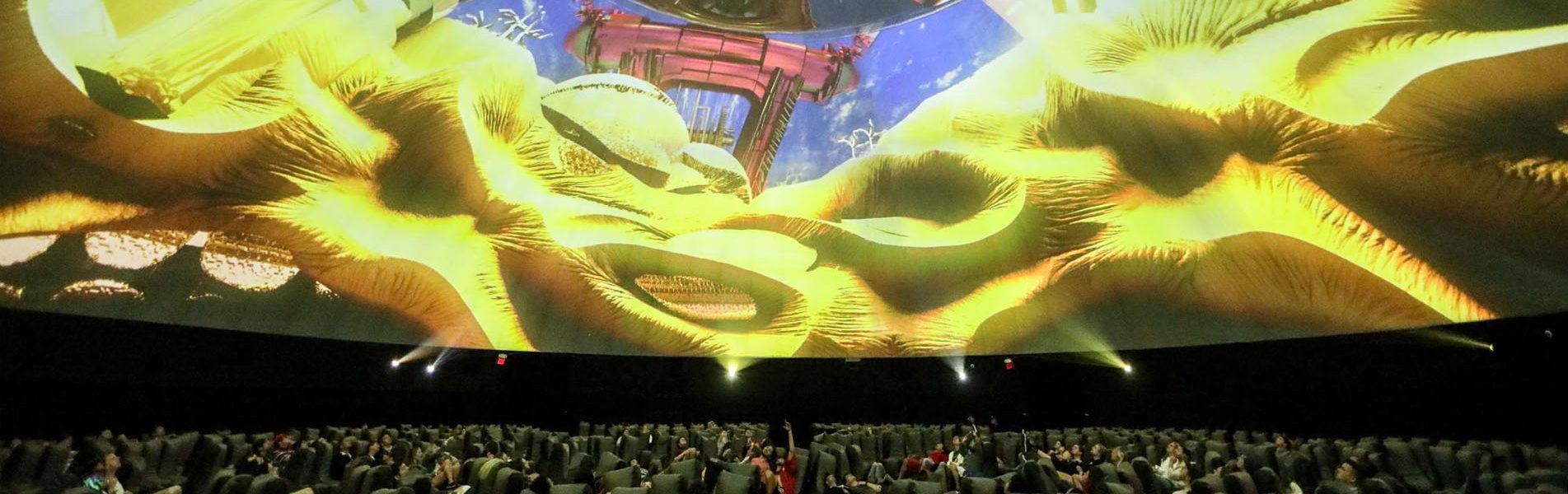 120ft Coachella Projection Theater Dome
