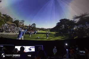 Pro-Am Golf-Pacific Domes