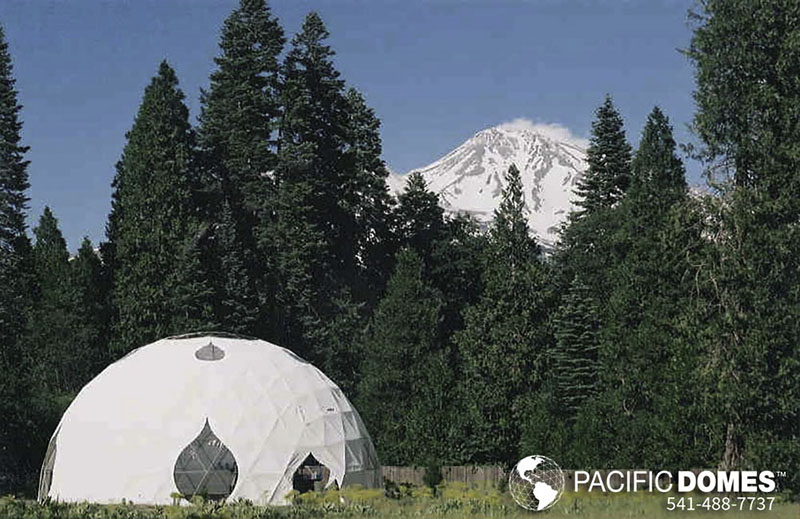 Epic Geodesic Wedding Tent Venues Pacific Domes