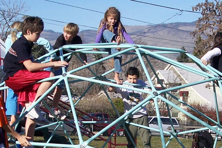 climbing dome-playground dome