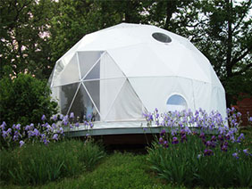 Geodesic Dwell Domes