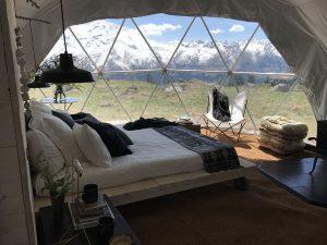 Glamping Dome Interior