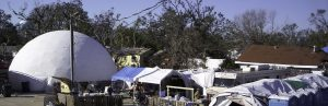 Hurricane Harvey Relief: Rent Temporary Shelter Dome Housing