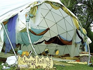 Sound healing dome