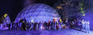 Festival Domes for Projection Theaters and Glamping
