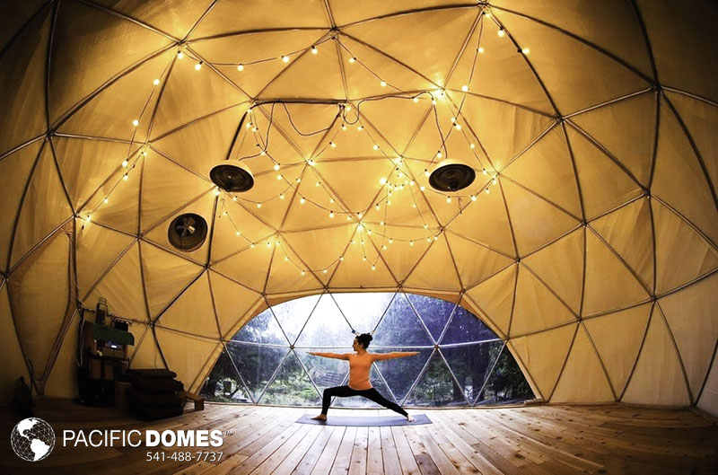 yoga geodesic building system