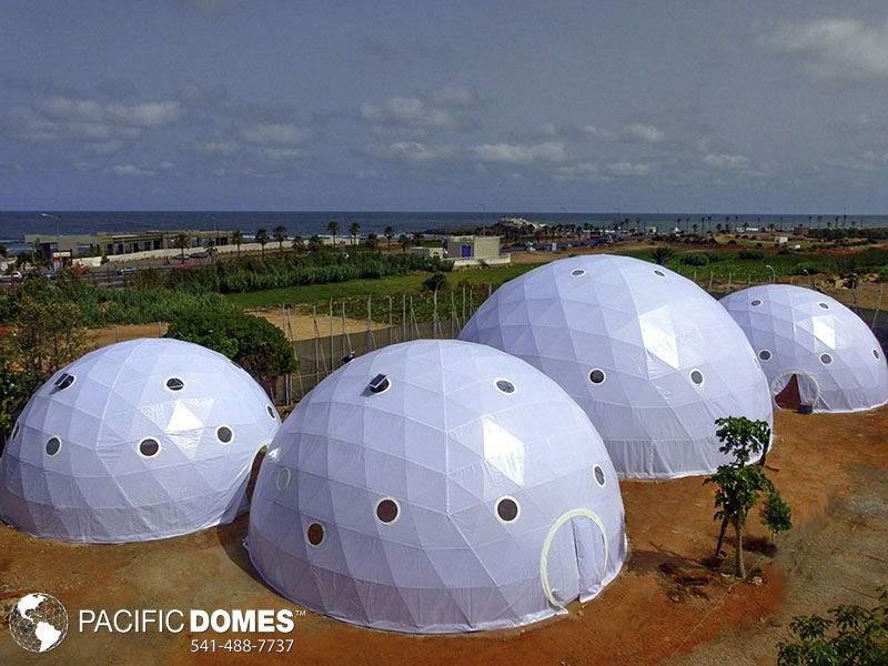 domed greenhouse