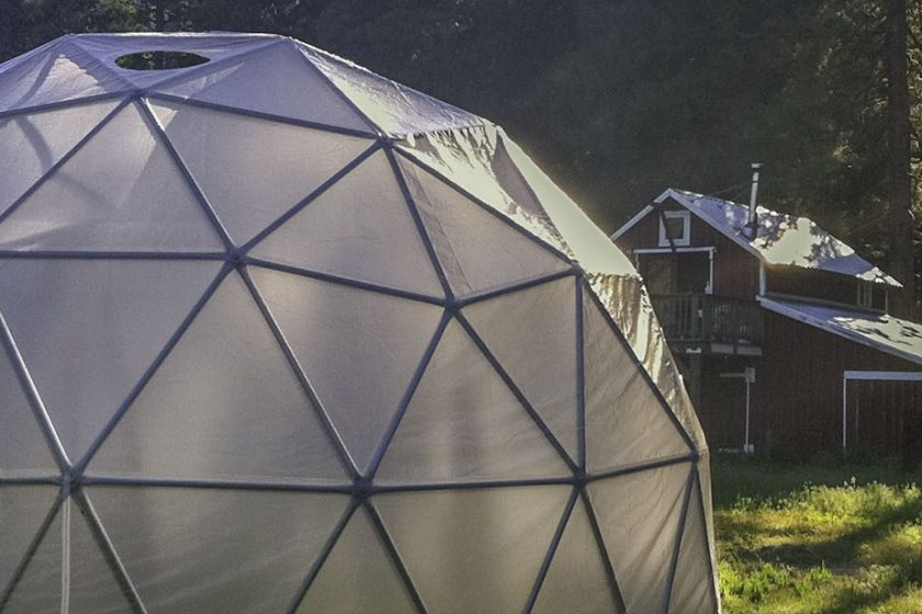 greenhouse dome