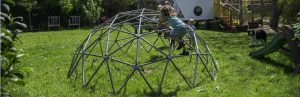 Geodesic Dome Climbing Gym: The Safe Monkey-Bar for Kids of All Ages