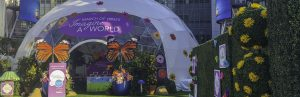 March of Dimes Pop-up Dome: Imagine a World