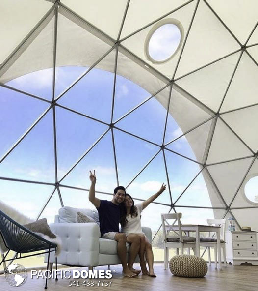 Dome Home Design Ideas: Romantic Eco Glamping Escapes
