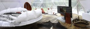 Romantic Valentine's Eco-Hospitality Glamping Escapes