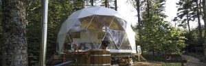 Ecoliving Dwell Domes: Sustainable & Self-Sufficient Dwellings