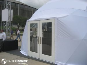 30ft Event Domes with Double Prehung Door