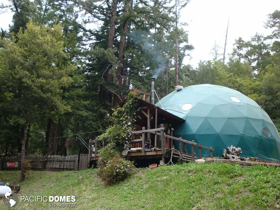 building your own geodesic dome house