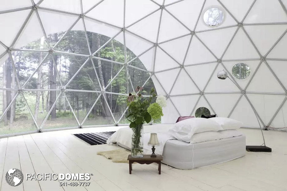 dome cabin, geodesic dome cabin