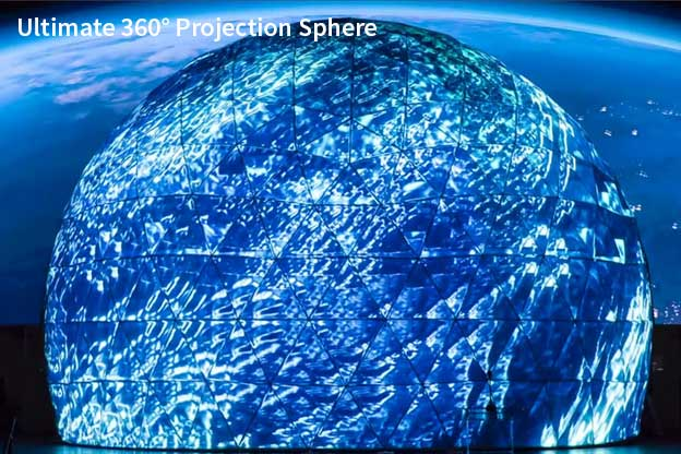 Pacific Domes 360 Projecdtion Sphere