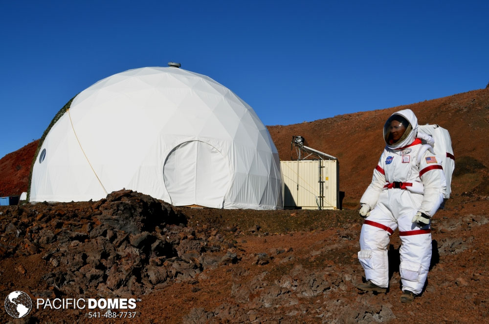 hi-seas, mission mars dome, dome on mars