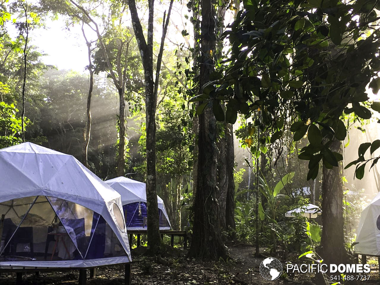 mexico glamping, glamping resort in Mexico, dome glamping