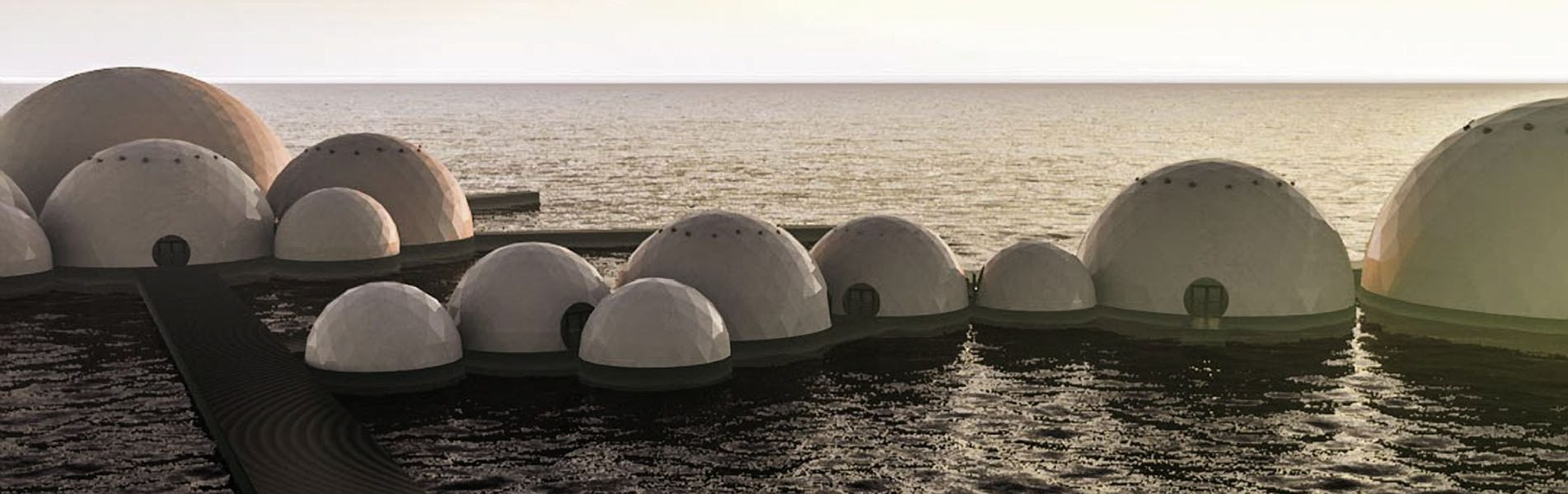 Coconut & Wave Floating Dome Complex