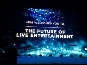 MSG Sphere Technology welcomes you to the future of entertainment.