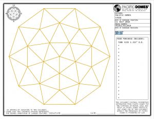20ft Dome Frame