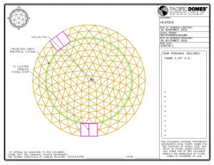 50ft Event Dome Frame