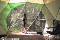 16ft T Dome Home Interior