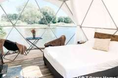 16ft T Floating Dome Home Interior